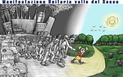 Manifestazione unitaria per la Valle del Sacco