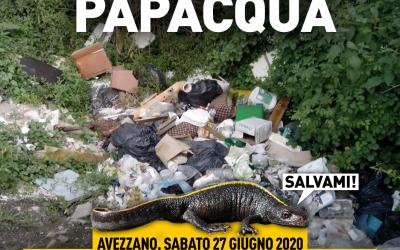Puliamo Papacqua ad Avezzano